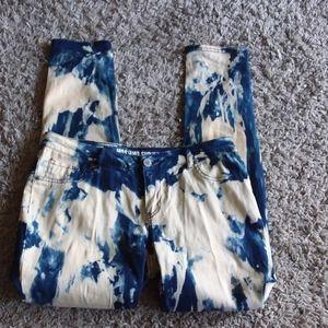 Mossimo Supply Co tie-dye women's leggings size 13